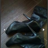 Сапоги кожаные Итальянские