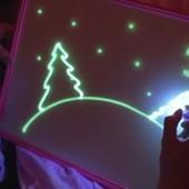 Детский развивающий набор для творчества Рисуй Светом!