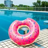 Акция!!! Надувной круг пончик Donuts Intex все размеры