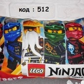 подушка детская лего ниндзя го lego Ninja Go