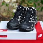 Ботинки (кроссовки) Salomon Waterproof р-р. 38-й (24 см)
