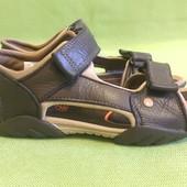 Босоножки, сандалии кожаные Clarks р.30, стелька 20см.