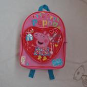 Рюкзак дошкольный Peppa Pig