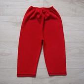 2-3  года Флисовые штаны, б/у.