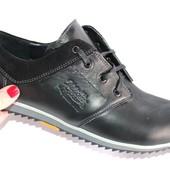 Мужские кожаные туфли, 2 цвета