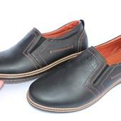 Мужские кожаные туфли GSL 1018