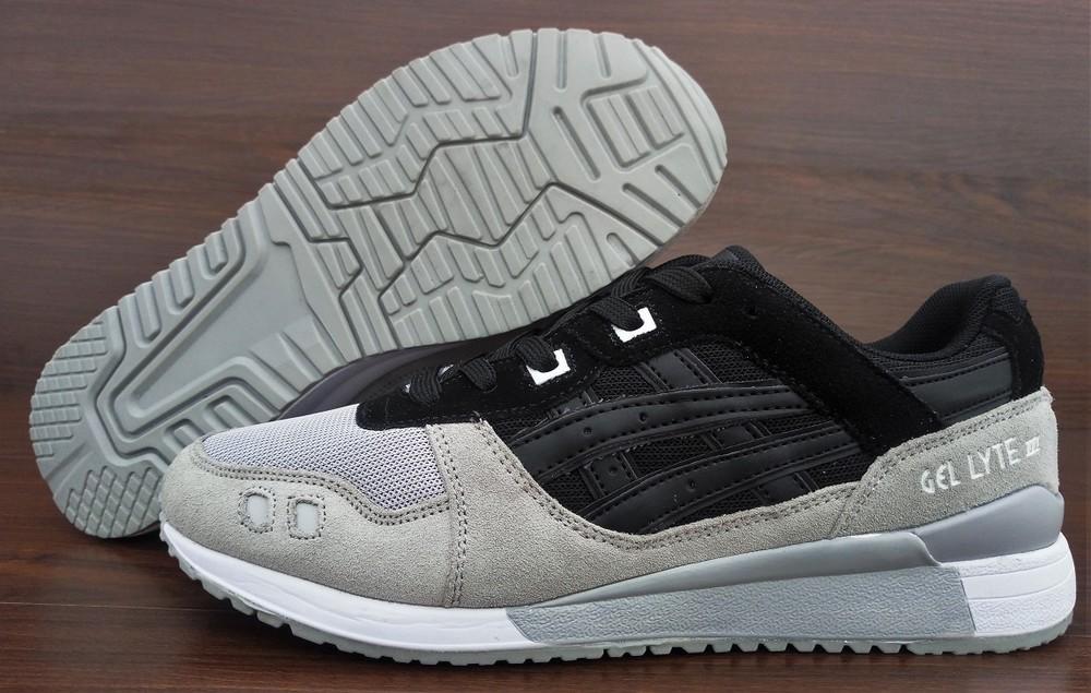 4581d334c8e2 Мужские кроссовки asics gel lyte черные с серым. вьетнам, цена 950 ...