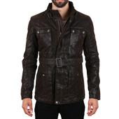 Свитшот в подарок!Куртка Patria Mardini (Германия) качественный кож зам