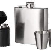 Подарочный охотничий набор:фляга и стаканчики Berghoff Outdoor 6 пр. 8500223