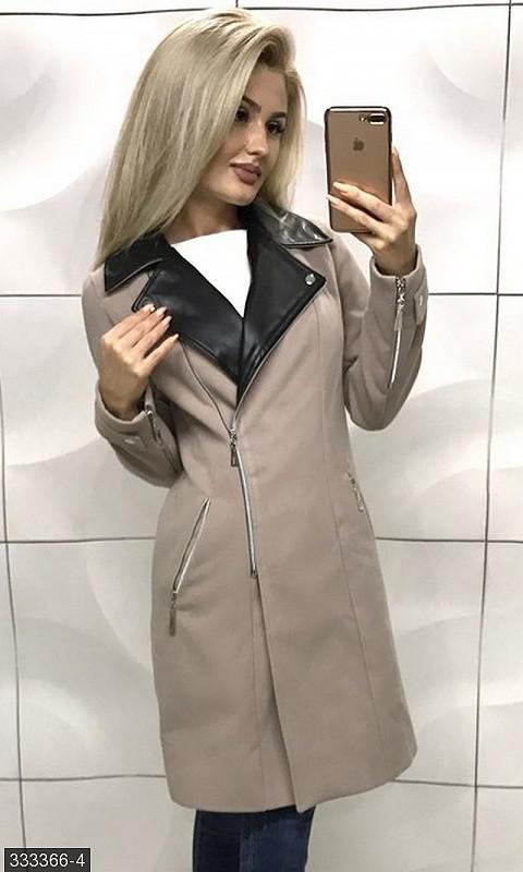 e380a0e3621 Стильное женское кашемировое пальто фото №1