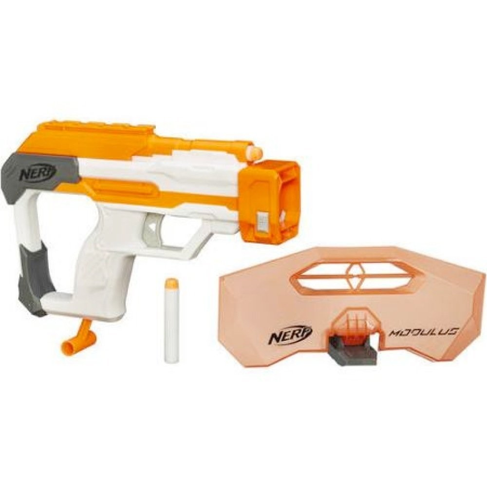 Nerf бластер модулус modulus strike and defend upgrade kit фото №1