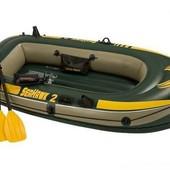 Надувная лодка  Seahawk 2 Set, насос, весла, в кор-ке