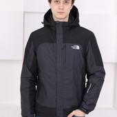 Мембранная мужская демисезонная непромокаемая куртка для весенних прогулок и спорта. Есть Батал