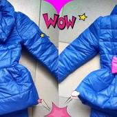 Куртка плащ для девочки весенний