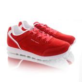 Стильные женские красные кроссовки
