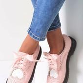 Польские туфли оксфорды Vices Польша ботиночки р.36-41 ботинки