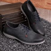 Туфли на шнуровке, в темно-сером цвете! в наличии! новые! 40 45 р!