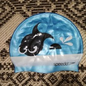 Отличная шапочка для  бассейна от Speedo