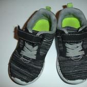 Модные легкие меланжевые кроссовки на 23 размер