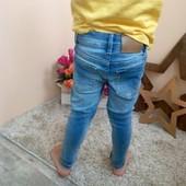 Сууупер узкие джинсы hm 1,5-2 года zara next