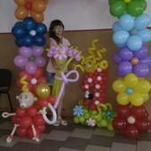 Принимаю заказы на цветы и фигуры  с шариков Ирпень, Буча, Гостомель