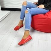 Эспадрильи Comfort красный