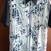 Стильная мужская рубашка, Турция, размер XL