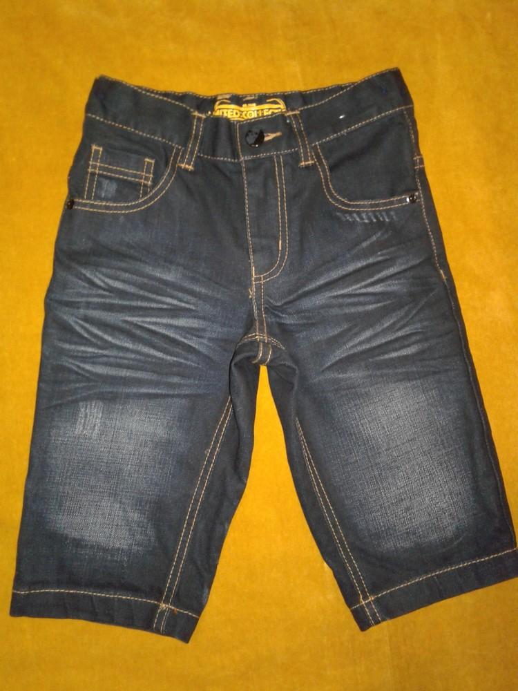 Шорты/капри джинсовые на мальчика. фото №1