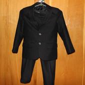 Костюм для мальчика (пиджак+штани)6-7лет