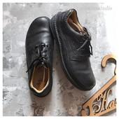 Комфортные кожаные туфли Clarks рр 44,5  Active air