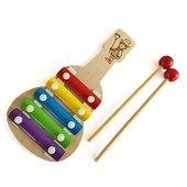 Деревянный ксилофон металлофон Гитара 1164