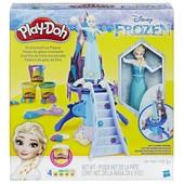 Play Doh frozen enchanted ice palace Плей до ледяной замок Эльза