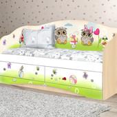 """Детский диван """"Совы"""" (2 размера)"""