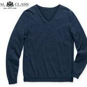 Шикарный мягкий свитер пуловер джемпер, шелк и кашемир, Royal Class Германия
