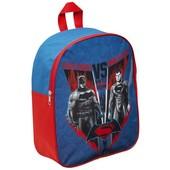 Рюкзак дошкольный с суперменом и бетменом Лига справедливости