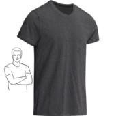Мужская футболка зауженного покроя для спорта и дома Domyos код 8352408 Оригинал ЄС