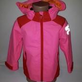 Яркая  куртка ветровка H&M 3-4 лет
