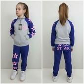 Детский спортивный костюм All Star, 122-152 см, электрик