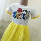 Красивое платье на новый год от производителя  110-134