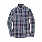 Стильная мужская хлопковая рубашка Tchibo Германия.наш 52-54