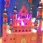 Замок для мален.фигурок. Свет, музыка. Распродажа до 01.04