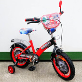 Велосипед Tilly Пожежник 14 T-21429 red + black