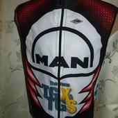 Спортивная фирменная футболка вело майка италия Wind (Винд).xs-s.унисекс .