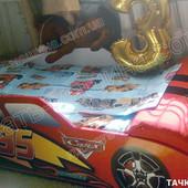 Кровать машина Тачка Суперкар 1810х740х500 с боковым ящиком Бесплатная доставка