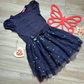 Платье с пайетками пышное YD (3-4 года)-