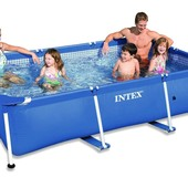 Каркасный бассейн сборный Small Frame Intex 28272 (58981) (300*200*75 см)