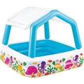 Детский надувной бассейн 57470 Intex со съемной крышей
