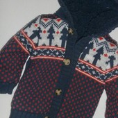 Кофта - куртка на меху на 1-2 года