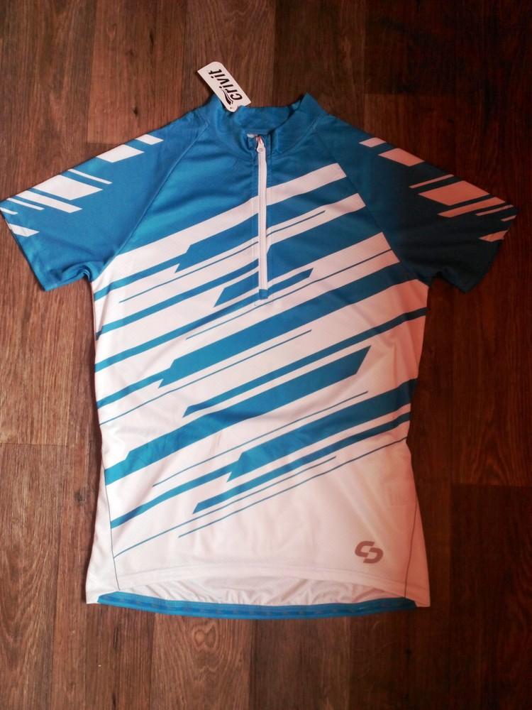 Велофутболка футболка для спорта р.l crivit германия фото №1