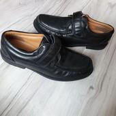 Кожаные туфли Pavers  на 42р. 27,5 см